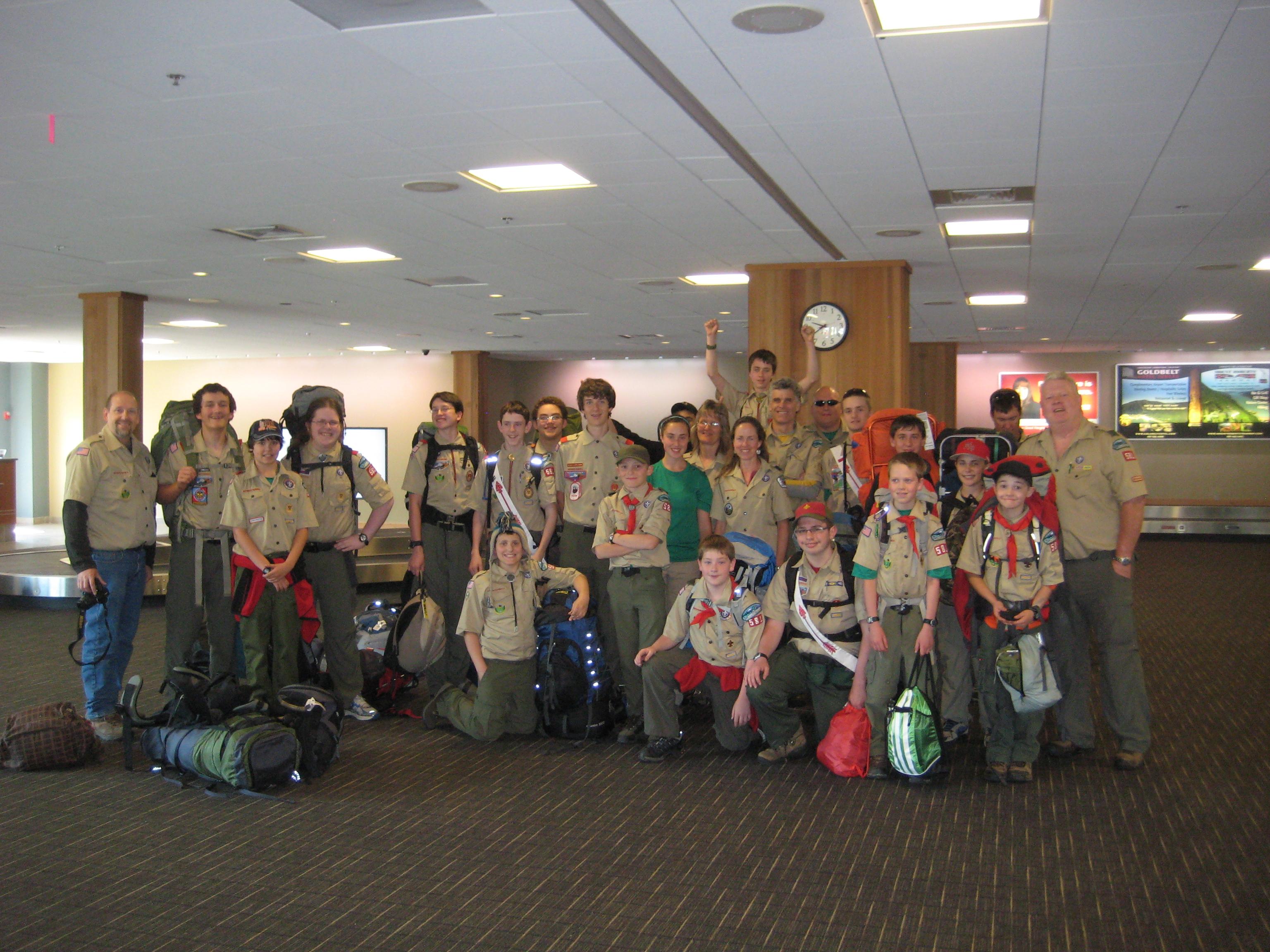 boy scout troop home