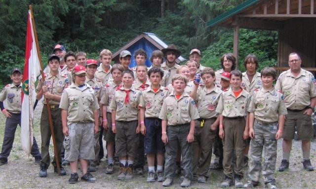 boy scout troop history